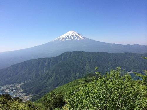 富士山と側火山