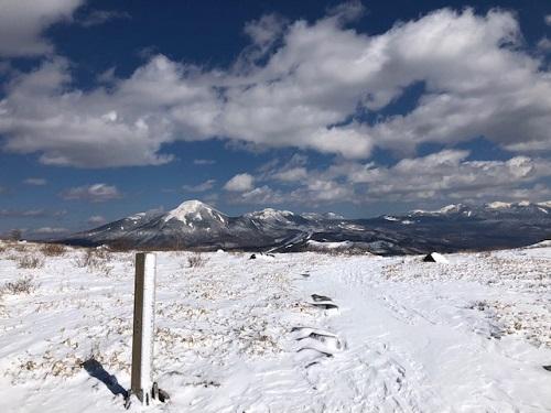 登山ガイドステージⅡ積雪積雪