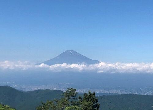 浜石岳からの富士山