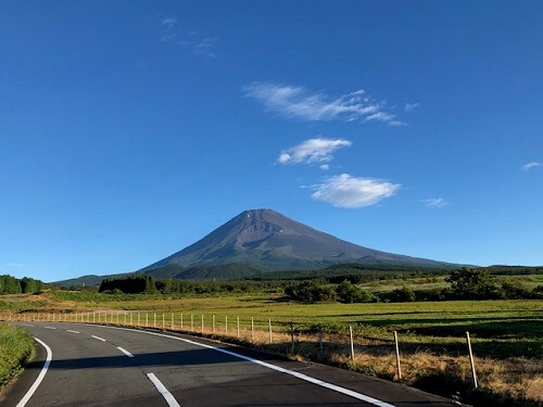 須山登山道