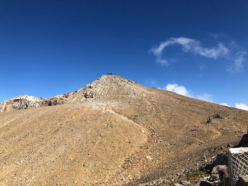 御嶽山剣が峰