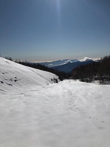 孤独な冬山登山